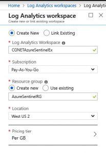 Azure_Sentinel_Log_Workspace