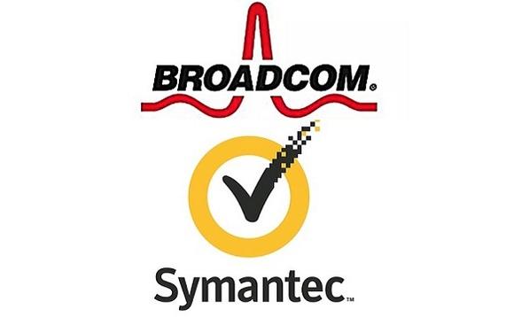Broadcom Symantec logo