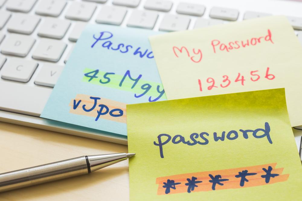 bad password habits