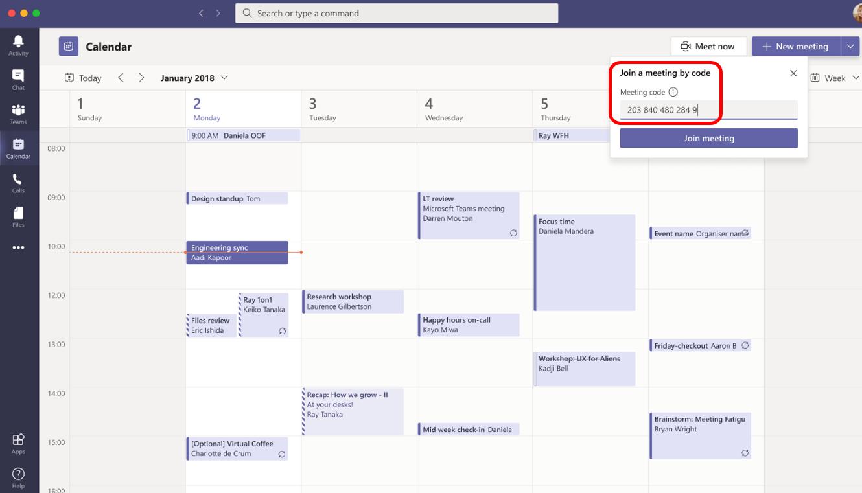 New Teams Meeting feature: join meeting on desktop